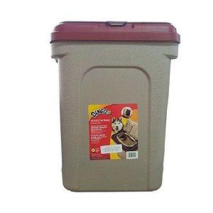 Porta Ração Container Com Dosador Dingo 30kg