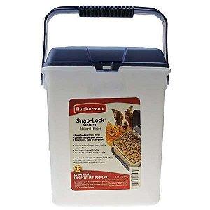 Porta Ração Container Plástico Rubbermaid 2kg