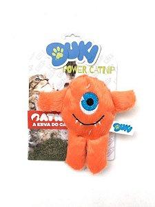 Brinquedos Para Gato Pelucia Monstrinho Com CatNip Gatos Duki