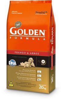 Ração Golden Formula Filhotes Frango