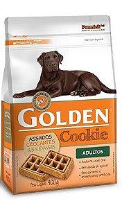 Biscoito Petisco Golden Cookie Para Cães Adultos