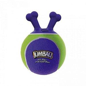 Brinquedos Para Cachorro Bola Jumball Tênis Roxa Verde