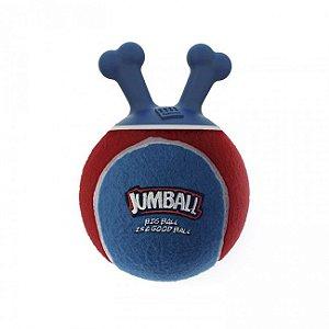Brinquedos Para Cachorro Bola Jumball Tênis Azul Vermelho
