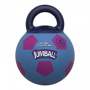 Brinquedos Para Cachorro Bola Jumball Soccer Azul Rosa