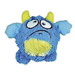 Brinquedos Para Cachorro Bola Monstro Pelúcia Azul
