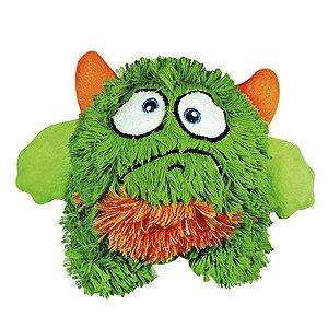 Brinquedos Para Cachorro Bola Monstro Pelúcia Verde