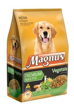 Ração Magnus Premium Vegetais Adulto