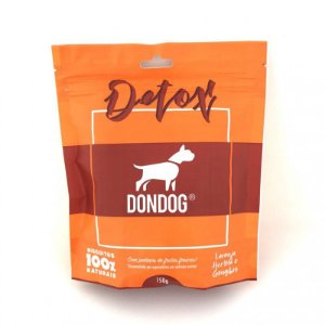 Petisco Biscoito Para Cachorro Natural Don Dog Detox