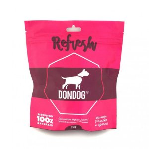 Petisco Biscoito Para Cachorro Natural Don Dog Refresh