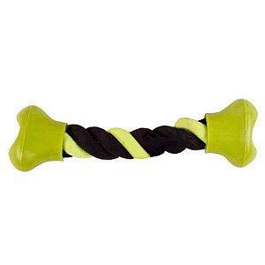 Brinquedo Para Cachorro Corda Dental Tug Pontas