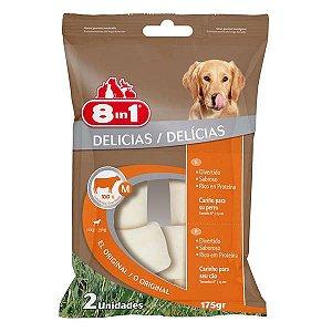Osso Para Cachorro 8in1 Natural Médio