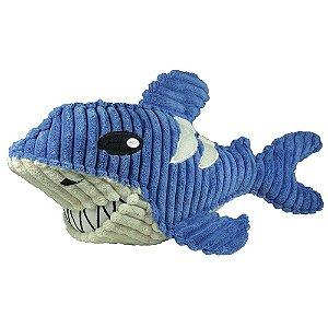 Brinquedos Para Cachorro Mordedor Pelúcia Tubarão