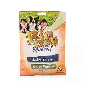 Bifinhos para Cachorro Bio Dog Sabor Bacon