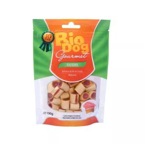 Biscoitos para Cachorro Bio Dog Gourmet Sushi Frango