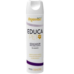 Educador Organnact Educa Pet para Cães e Gatos Spray 100 mL