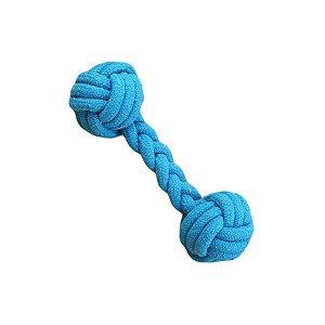 Brinquedos Para Cachorro Corda Corda Osso Azul