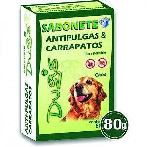 Sabonete Antipulgas e Carrapatos Dug's 80g