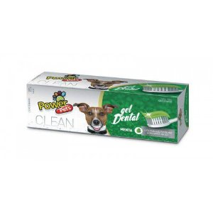 Gel Dental Para Cachorros Power Pet Menta 60g