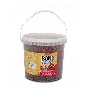 Petisco Bifinho Para Cachorro Bone Apettit Carne 1Kg