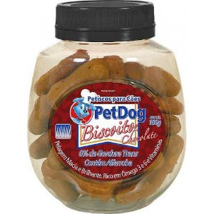 Petisco Para Cachorro Pet Dog Chocolate 180g