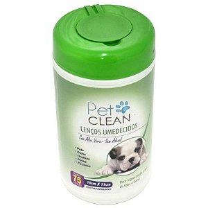 Lenços Umedecidos Para Pets Pet Clean Filhotes