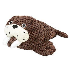 Brinquedos Para Cachorro Pelúcia PatchWork Pet Leão Marinho