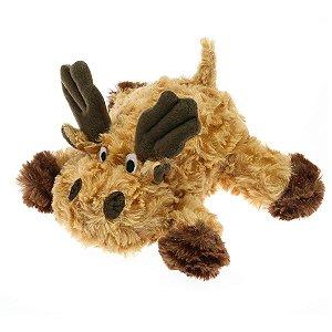 Brinquedos Para Cachorro Pelúcia PatchWork Pet Alce