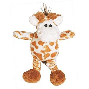 Brinquedos Para Cachorro Pelúcia PatchWork Pet Girafa Pequena