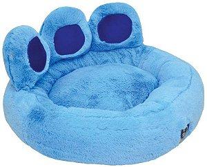 Cama Para Cachorro São Pet Hoff Pelúcia Azul