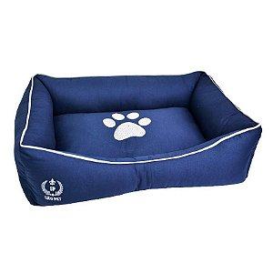 Cama Para Cachorro São Pet Ibiza Azul