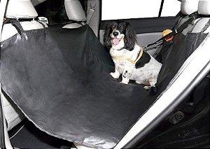 Capa Para Banco de Carro Com Cinto de Segurança São Pet Preta