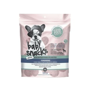 Petisco The French Co Baby Snacks Hipoalergênico 120g
