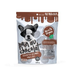 Petisco Chocolate Vegano Para Cães  The French Co 120g