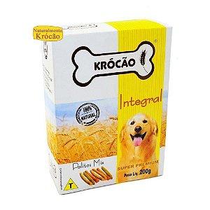 Petisco Para Cachorro Palitos Mix Integral Krocão 200g