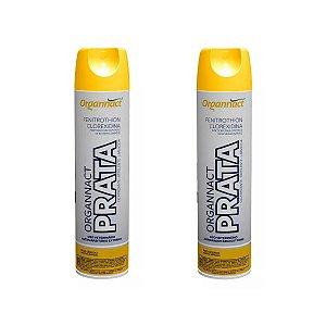 Organnact Prata Spray Antibacteriano 500ml Kit 2