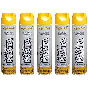 Organnact Prata Spray Antibacteriano 500ml Kit 5