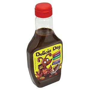 Molho Para Ração de Cachorro Delícia Dog Churrasco 250g