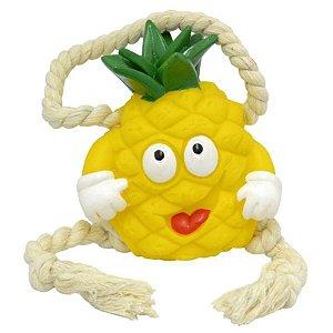 Brinquedos Para Cachorro Abacaxi Com Corda