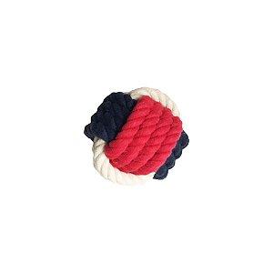 Brinquedos Para Cachorro Bola De Corda Vermelha Pet Brand Pequena