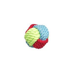 Brinquedos Para Cachorro Bola De Corda Colorida Pet Brand Pequena