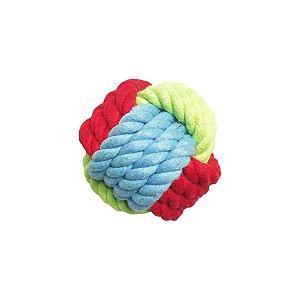 Brinquedos Para Cachorro Bola De Corda Colorida Pet Brand