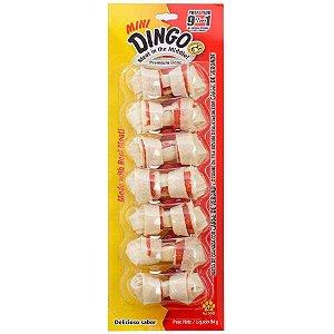 Petisco Para Cachorro Dingo Premium Bone Mini 7 Unidades 84g