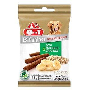 Petisco Para Cachorro 8in1 Bifinho Banana