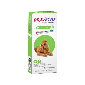 Antipulgas Bravecto 10 a 20kg Transdermal Cães