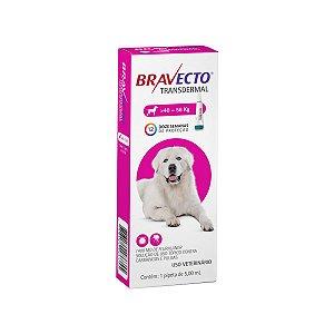 Antipulgas Bravecto 40 a 56kg Transdermal Cães
