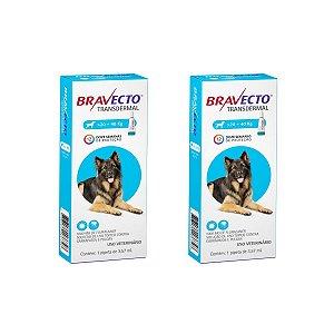 Combo 2 Antipulgas Bravecto 20 a 40kg Transdermal Cães