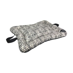 Cama Almofada Para Cachorro Preta M 55 x 68 x 10cm