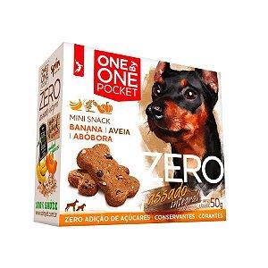Biscoito Cachorro Mini Snack Banana, Abobora e Aveia Spin Pet 50g