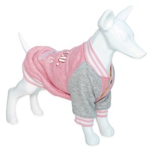Roupa Cachorro Moletom Woly Pink Au