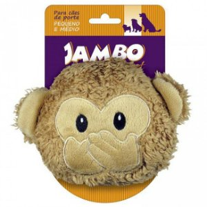 Brinquedos Para Cachorro Pelúcia Emoji Macaco Pequeno